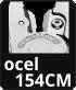 břity kleští jsou z oceli 154CM