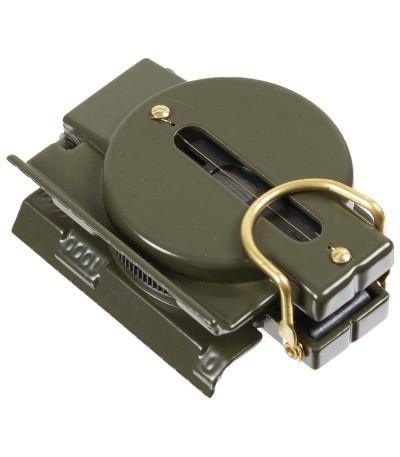 Kvalitní outdoor buzola (kompas) kovová - armádní provedení