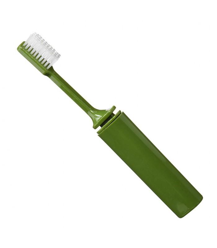 Kartáček na zuby skládací - praktický dárek pro muže i ženy pro outdoor a cestování