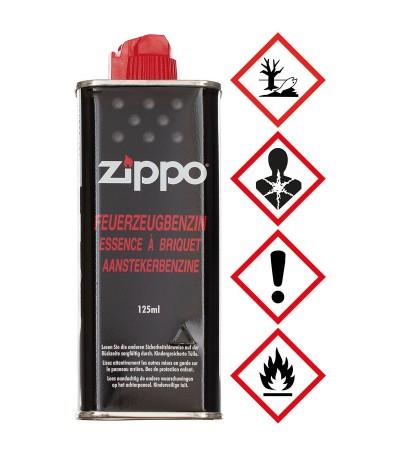 Zippo náplň (benzín) do zapalovače o objemu 125 ml - vhodná do všech benzínových zapalovačů