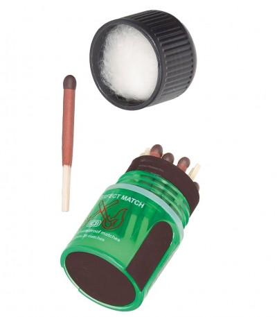 Zápalky (sirky) pro outdoor použití na čundr, vodu i camping.