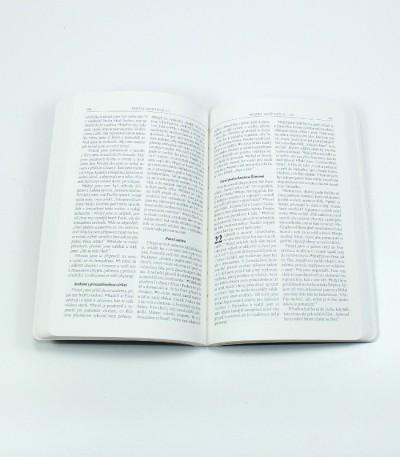 voděodolná Bible pro vodáky, do deště i na mořské dno