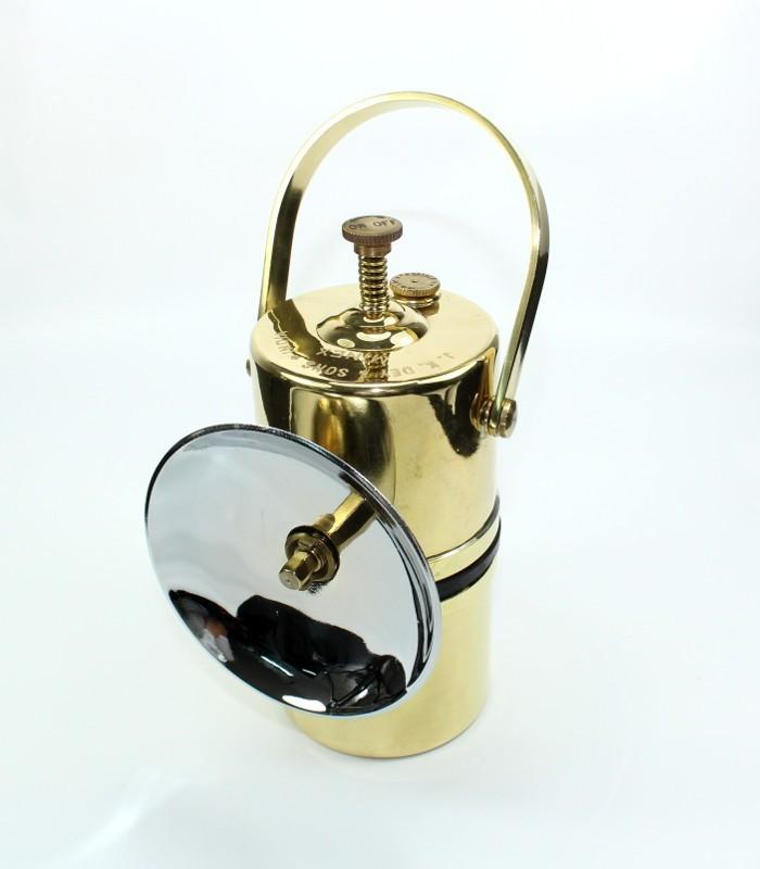 Karbidová lampa ruční 104C