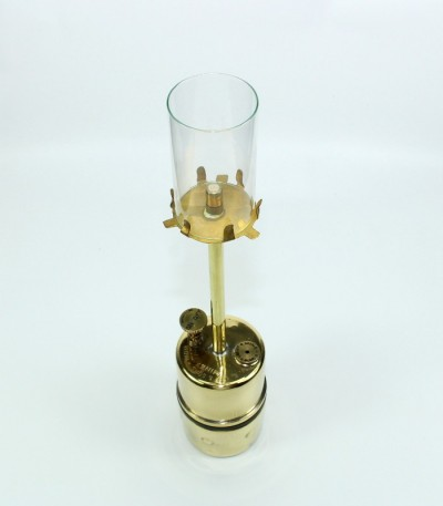 Karbidová lampa stolní malá