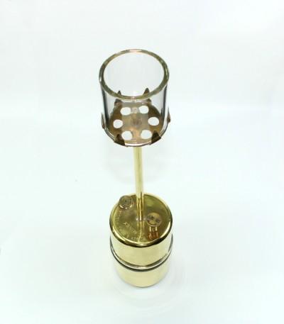 Karbidová lampa stolní velká