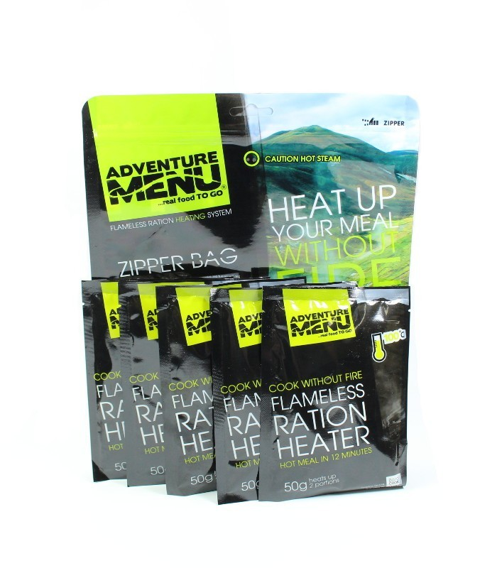 Adventure menu Samoohřev 5x50g