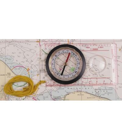 Buzola (kompas) pro práci s mapou