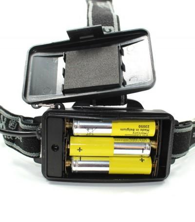 Čelovka Fox - 1 LED, zoom
