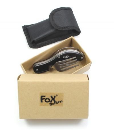 Příbor Fox skládací - patří mezi skvělé dárky pro muže i praktické dárky pro ženy
