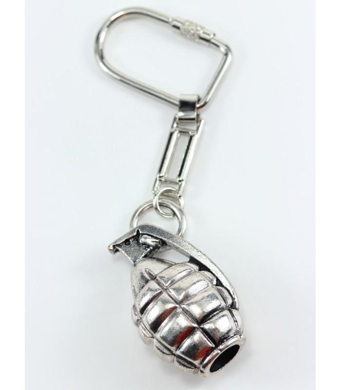 Přívěsek na klíče - ruční granát