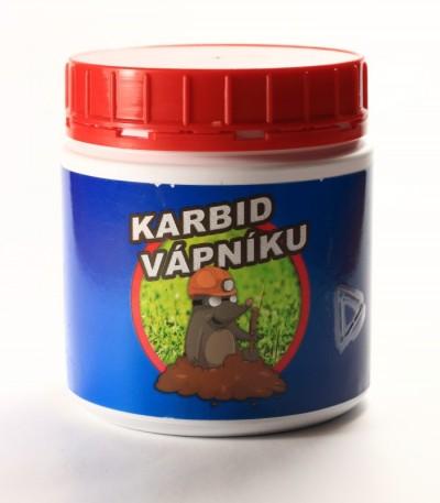 balení karbidu vápníku (vápenatého) 400 g
