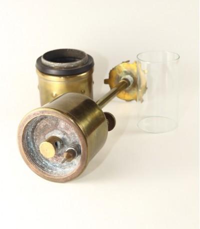 acetylenová svítilna na karbid vápenatý