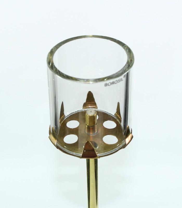 karbidová lampa stolní velká - náhradní sklo