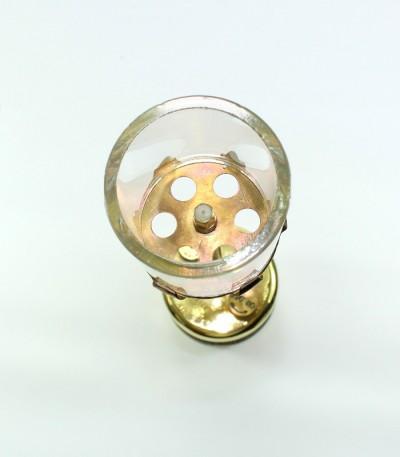 acetylenová lampa stolní velká - náhradní díl - sklo