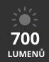 světelný tok až 700 lumenů